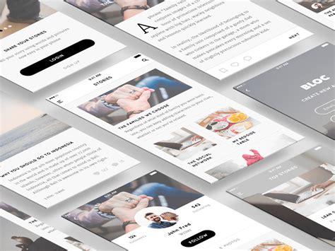 Blog UI Kit Sketch freebie - Download free resource for ...