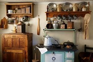 Cuisine Ancienne Campagne : la cuisine style campagne d cors chaleureux vintage ~ Nature-et-papiers.com Idées de Décoration