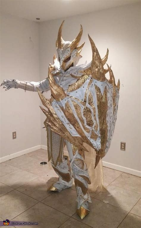 holy daedric armor costume photo