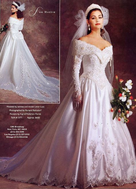 186 Best Images About 1990s Wedding Gowns And Dresses On