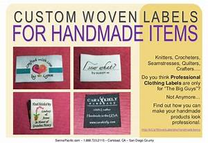 custom woven labels for handmade items With handmade for you labels