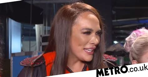 wwe survivor series nia jax hits   fans