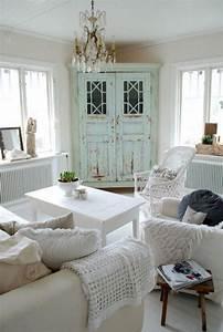 35, Shabby, Chic, Farmhouse, Living, Room, Design, Ideas