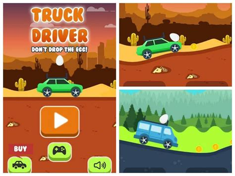 smartphone truck driver hill climb in the tizen