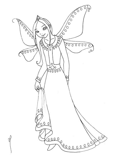 disney princess fairy coloring pages  kids