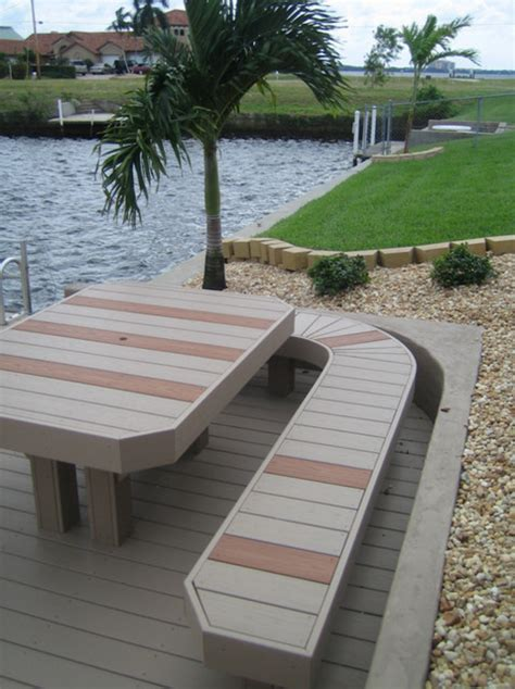 composite deck composite deck span tables picnic table from composite decking ta by decks