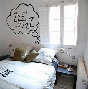 Conforama Deco Murale : conforama chambre ado garcon idee deco murale murs blancs grande fenetre dans la chambre a ~ Melissatoandfro.com Idées de Décoration