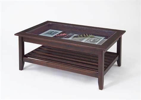 Diy Glass Top Display Coffee Table Plans Plans Free