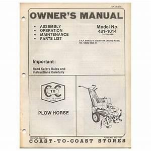 Original 1978 Coast To Coast Stores Owner U2019s Manual 5