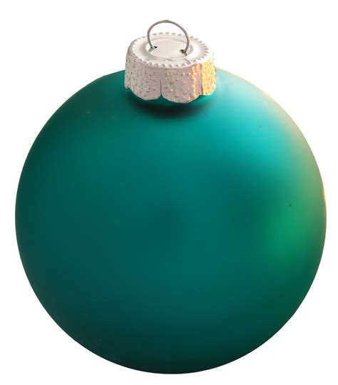 turquoise glass ornament - Turquoise Ornaments