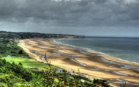 Omaha Beach - view from WN60 - Normandy, France | Omaha ...