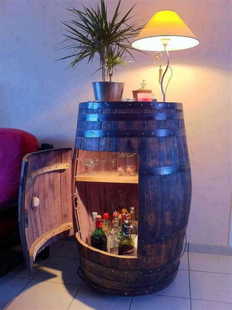 creative diy wine barrel project ideas