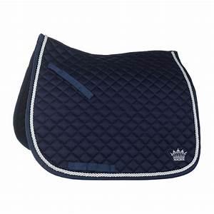 tapis de selle dressage lisere argent equipement equitation With tapis de selle dressage