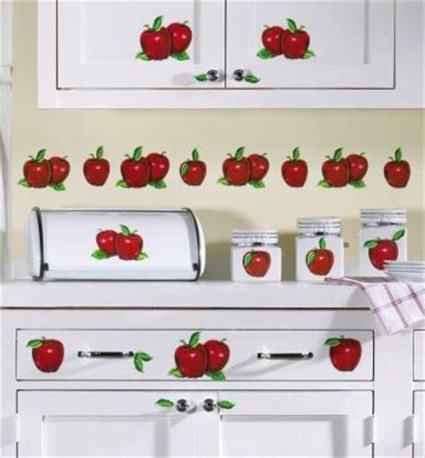 apple canisters for the kitchen apple decals for kitchen apple decor stick on kitchen