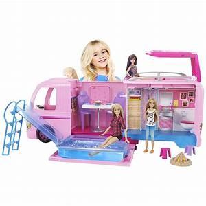Y Et W : barbie camping car transformable la grande r cr vente de jouets et jeux catalogue jouets de ~ Medecine-chirurgie-esthetiques.com Avis de Voitures