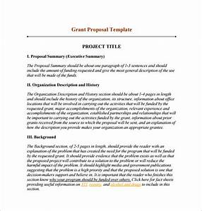 funding proposal template 15 free sample example With proposal template for funding request