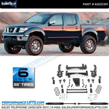 fabtech   nissan frontier  lift  stealth