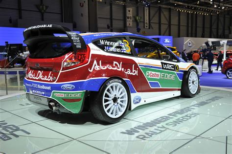 ford fiesta rs wrc geneva  picture