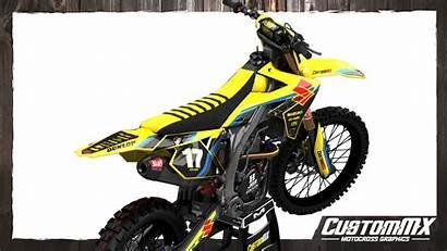 Rmz Suzuki Rm Graphics Moto Kit Retro