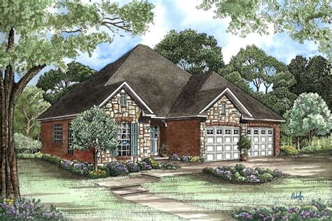 small country home plan  bedrms  baths  sq ft
