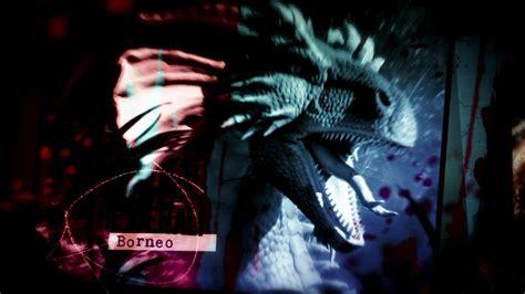 creatures explained  deadly dragon  borneo