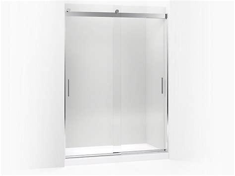 kohler levity sliding shower door kohler 706013 l levity sliding shower door 82 quot h x 56 8820