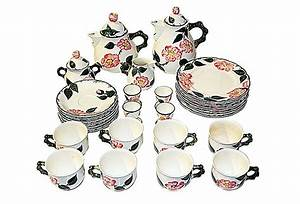 Villeroy And Boch : villeroy boch wild rose tea set service for 8 mettlach ~ A.2002-acura-tl-radio.info Haus und Dekorationen