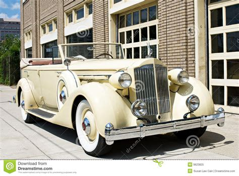 luxury vintage car stock image image of american classic