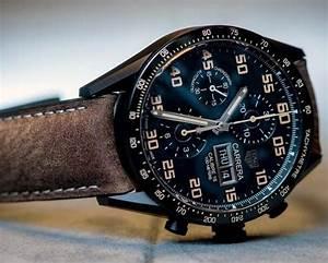Replica TAG Heuer - Carrera Calibre 16 Chronograph Black ...