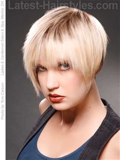 chic choppy bangs  women   popular