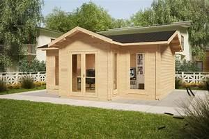 Gartenhaus 2 50x2 50 : gartenhaus eamon 25m2 50mm 4x6 m hansagarten24 ~ Whattoseeinmadrid.com Haus und Dekorationen
