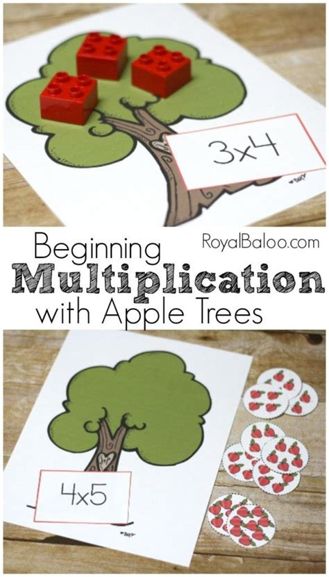 Learn Multiplication Free with an Apple Theme - Royal ...
