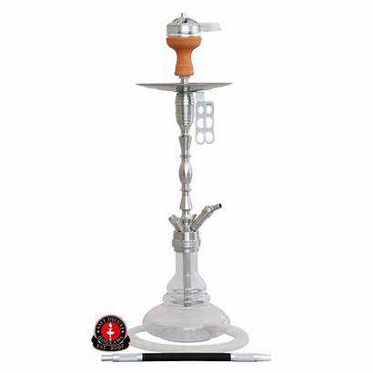 Amy Deluxe Ss08 Hammer Steel Shisha Transparant