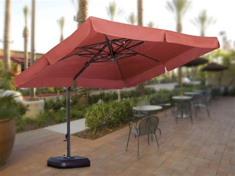 large hanging patio umbrella large cantilever patio umbrella 10ft patio umbrella