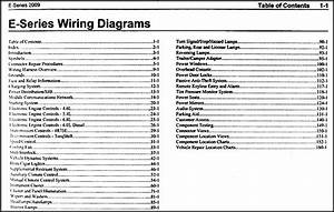 2009 Ford Econoline Van  U0026 Club Wagon Wiring Diagram Manual