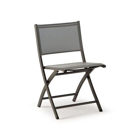 chaise pliante en aluminium tt961 chaise pliante en aluminium et textilène disponible dans différentes couleurs idéale à
