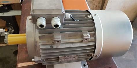 Electric Motor Solutions by Replacing Quot Reduced Frame Quot Braked Electric Motor M G