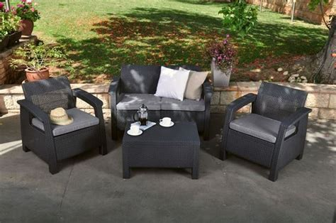 corfu lounge set keter