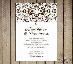free printable wedding invitations templates best With create and print wedding invitations online free