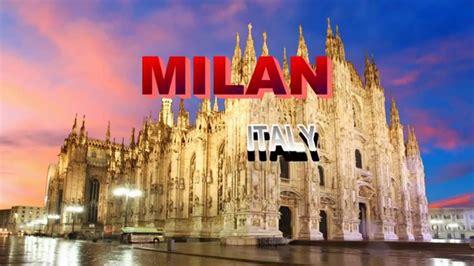 visiting milan italy city  day night life