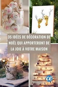 Decoration De Noel Pour Fenetre A Faire Soi Meme : 35 id es de d coration de no l qui apporteront de la joie ~ Melissatoandfro.com Idées de Décoration