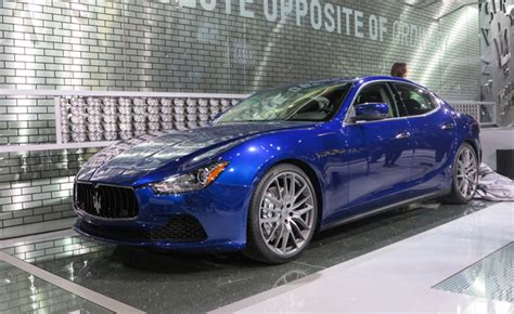 Maserati Ghibli Makes North American Debut In La