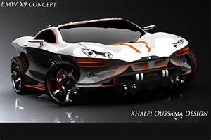 Moderne Autos : if batman drove a bimmer bmw concept x9 concept by khalfi oussama ~ Gottalentnigeria.com Avis de Voitures