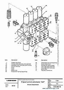 Liebherr R974    R984 Hydraulic Excavator Service Manual Pdf