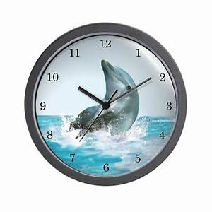 Bubble Dolphin Wall Clock By Dolphinkind
