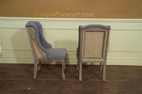 deconstructed dining chair   burlap