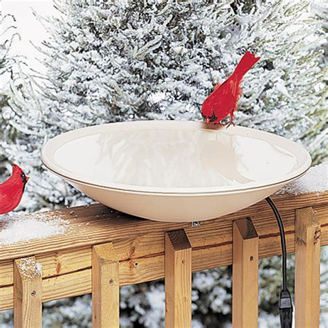 allied precision   heated bird bath bird baths