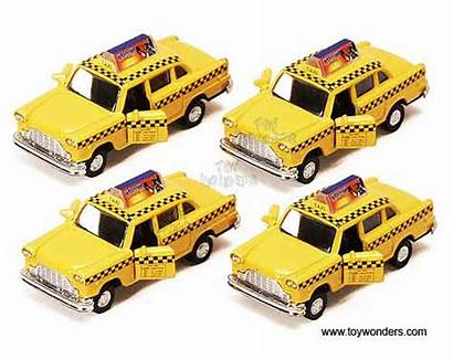 Taxi Toy Cab Yellow Nyc York Cars