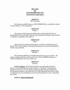 best photos of example of corporate bylaws corporate With s corporation bylaws template