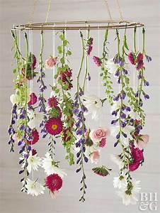 Create A Gorgeous Diy Flower Chandelier